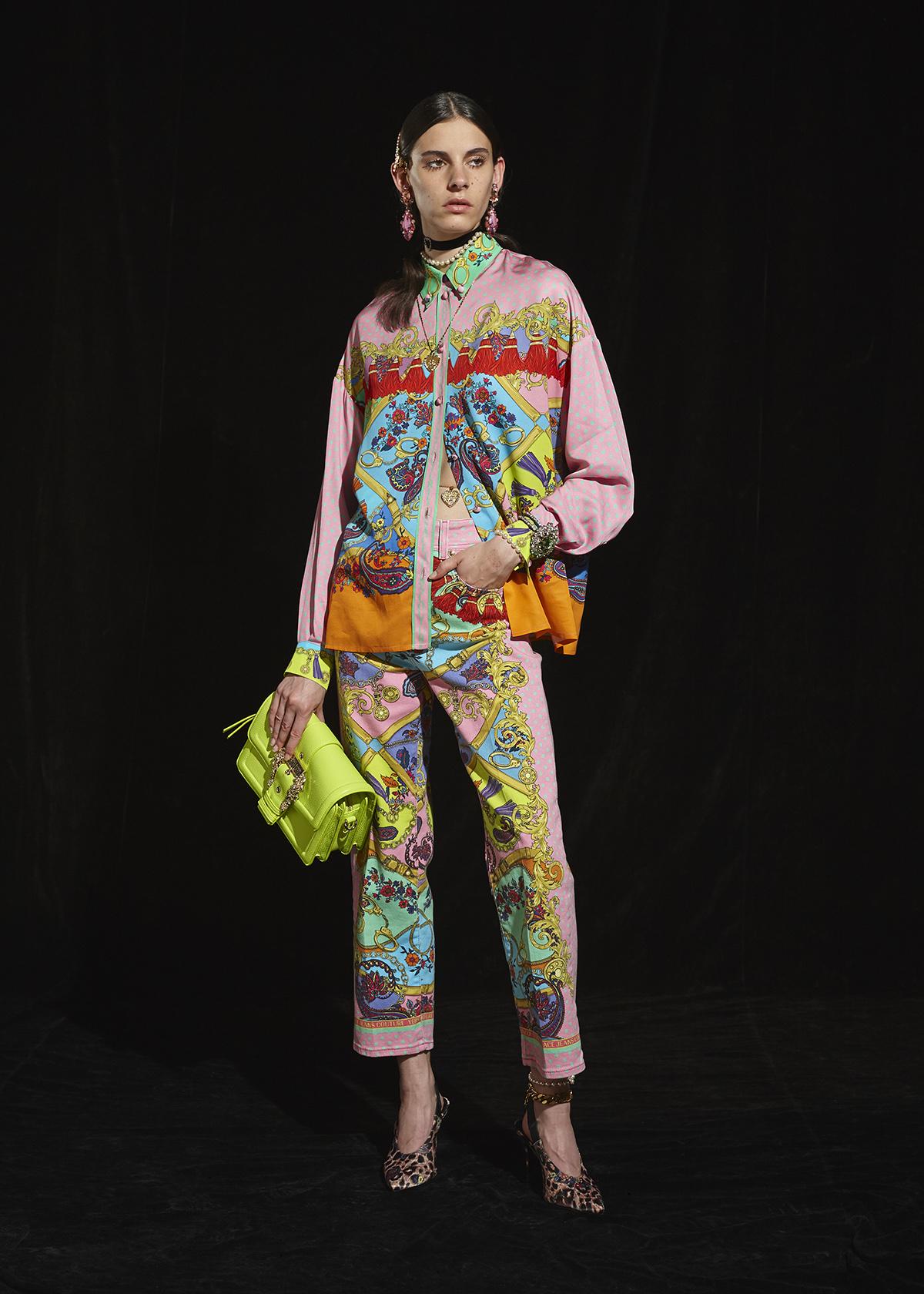 Versace Jeans Couture collezione autunno 2020