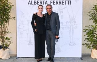 Stefania Rocca e Carlo Capasa