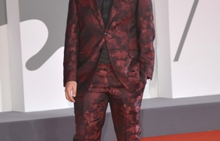 77th Venice Film Festival 2020, Red Carpet Film Revenge Room. Pictured  Matteo Pelusi