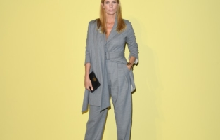 MILAN, ITALY - SEPTEMBER 26: Filippa Lagerbäck attend the Salvatore Ferragamo show during during Milan Fashion Week Spring/Summer 2021 on September 26, 2020 in Milan, Italy. (Photo by Daniele Venturelli/Daniele Venturelli/Getty Images for Ferragamo )