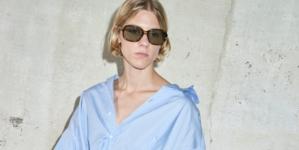 Andrea Pompilio donna primavera estate 2021: cromatici contrasti, tutti i look