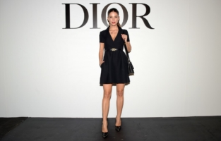 PARIS, FRANCE - SEPTEMBER 29: Juana Acosta attends the Dior Womenswear Spring/Summer 2021 show as part of Paris Fashion Week on September 29, 2020 in Paris, France. (Photo by Anthony Ghnassia/Getty Images for Dior)
