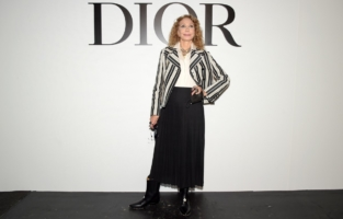 PARIS, FRANCE - SEPTEMBER 29: Marisa Berenson attends the Dior Womenswear Spring/Summer 2021 show as part of Paris Fashion Week on September 29, 2020 in Paris, France. (Photo by Anthony Ghnassia/Getty Images for Dior)