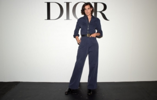 PARIS, FRANCE - SEPTEMBER 29: Nine d'Urso attends the Dior Womenswear Spring/Summer 2021 show as part of Paris Fashion Week on September 29, 2020 in Paris, France. (Photo by Anthony Ghnassia/Getty Images for Dior)