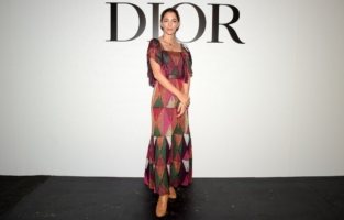 PARIS, FRANCE - SEPTEMBER 29: Sofia Sanchez de Betak attends the Dior Womenswear Spring/Summer 2021 show as part of Paris Fashion Week on September 29, 2020 in Paris, France. (Photo by Anthony Ghnassia/Getty Images for Dior)