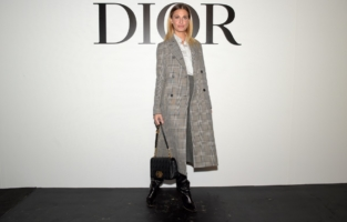 PARIS, FRANCE - SEPTEMBER 29: Sveva Alviti attends the Dior Womenswear Spring/Summer 2021 show as part of Paris Fashion Week on September 29, 2020 in Paris, France. (Photo by Anthony Ghnassia/Getty Images for Dior)