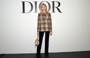 PARIS, FRANCE - SEPTEMBER 29: Camille Charriere attends the Dior Womenswear Spring/Summer 2021 show as part of Paris Fashion Week on September 29, 2020 in Paris, France. (Photo by Anthony Ghnassia/Getty Images for Dior)