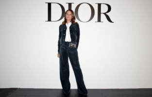 PARIS, FRANCE - SEPTEMBER 29: Camille Cottin attends the Dior Womenswear Spring/Summer 2021 show as part of Paris Fashion Week on September 29, 2020 in Paris, France. (Photo by Anthony Ghnassia/Getty Images for Dior)