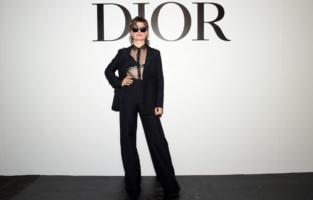 PARIS, FRANCE - SEPTEMBER 29: Christine & the Queens attends the Dior Womenswear Spring/Summer 2021 show as part of Paris Fashion Week on September 29, 2020 in Paris, France. (Photo by Anthony Ghnassia/Getty Images for Dior)