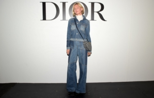 PARIS, FRANCE - SEPTEMBER 29: Elizabeth Von Guttman attends the Dior Womenswear Spring/Summer 2021 show as part of Paris Fashion Week on September 29, 2020 in Paris, France. (Photo by Anthony Ghnassia/Getty Images for Dior)