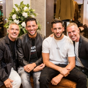 Dsquared2 boutique Lisbona: il cocktail party con Dean e Dan Caten