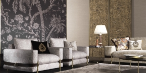 Etro Home Interiors The Intimate Living: richiami esotici d'ispirazione etnica