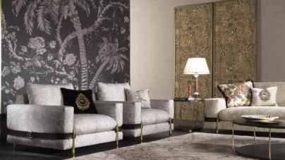 Etro Home Interiors The Intimate Living: richiami esotici d'ispirazione etnica