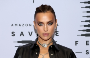 LOS ANGELES, CALIFORNIA - OCTOBER 2: In this image released on October 2, Irina Shayk attends Rihanna's Savage X Fenty Show Vol. 2 presented by Amazon Prime Video at the Los Angeles Convention Center in Los Angeles, California; and broadcast on October 2, 2020. (Photo by Jerritt Clark/Getty Images for Savage X Fenty Show Vol. 2 Presented by Amazon Prime Video)