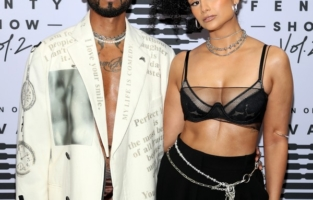 LOS ANGELES, CALIFORNIA - OCTOBER 2: (L-R) In this image released on October 2, Miguel and Nazanin Mandi attend Rihanna's Savage X Fenty Show Vol. 2 presented by Amazon Prime Video at the Los Angeles Convention Center in Los Angeles, California; and broadcast on October 2, 2020. (Photo by Jerritt Clark/Getty Images for Savage X Fenty Show Vol. 2 Presented by Amazon Prime Video)