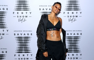 LOS ANGELES, CALIFORNIA - OCTOBER 2: In this image released on October 2, Nicole Chanel attends Rihanna's Savage X Fenty Show Vol. 2 presented by Amazon Prime Video at the Los Angeles Convention Center in Los Angeles, California; and broadcast on October 2, 2020. (Photo by Jerritt Clark/Getty Images for Savage X Fenty Show Vol. 2 Presented by Amazon Prime Video)