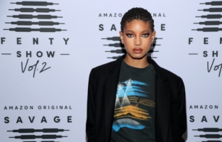 LOS ANGELES, CALIFORNIA - OCTOBER 2: In this image released on October 2, Willow Smith attends Rihanna's Savage X Fenty Show Vol. 2 presented by Amazon Prime Video at the Los Angeles Convention Center in Los Angeles, California; and broadcast on October 2, 2020. (Photo by Jerritt Clark/Getty Images for Savage X Fenty Show Vol. 2 Presented by Amazon Prime Video)