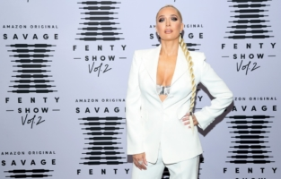 LOS ANGELES, CALIFORNIA - OCTOBER 2: In this image released on October 2, Erika Jayne attends Rihanna's Savage X Fenty Show Vol. 2 presented by Amazon Prime Video at the Los Angeles Convention Center in Los Angeles, California; and broadcast on October 2, 2020. (Photo by Jerritt Clark/Getty Images for Savage X Fenty Show Vol. 2 Presented by Amazon Prime Video)