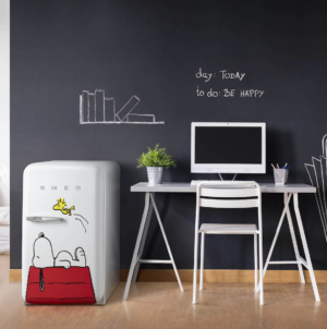 Smeg frigoriferi Fab Peanuts: la limited edition con Snoopy e Woodstock