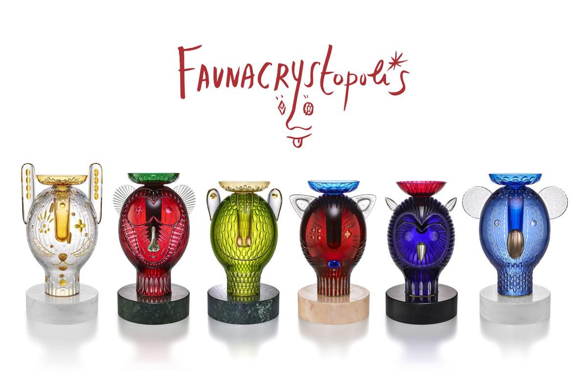 Baccarat collezione Faunacrystopolis
