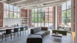 Casa degli Artisti Milano: l'atelier arredato da Lago nel cuore di Brera