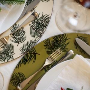 Idee per decorare la tavola natalizia: la nuova linea di sottopiatti MariaVi