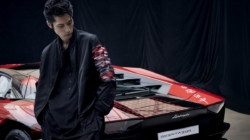 Lamborghini Lounge Tokyo: la Aventador S e la capsule collection co-branded