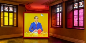 Prada Rong Zhai Rubber Pencil Devil: l'opera d'arte totale dell'artista Alex Da Corte