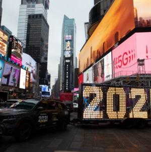 Capodanno 2021 New York live streaming: la diretta video da Times Square