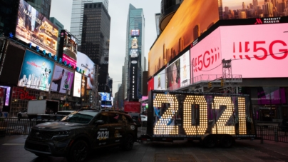 Capodanno 2021 New York live streaming: la diretta video da Times Square