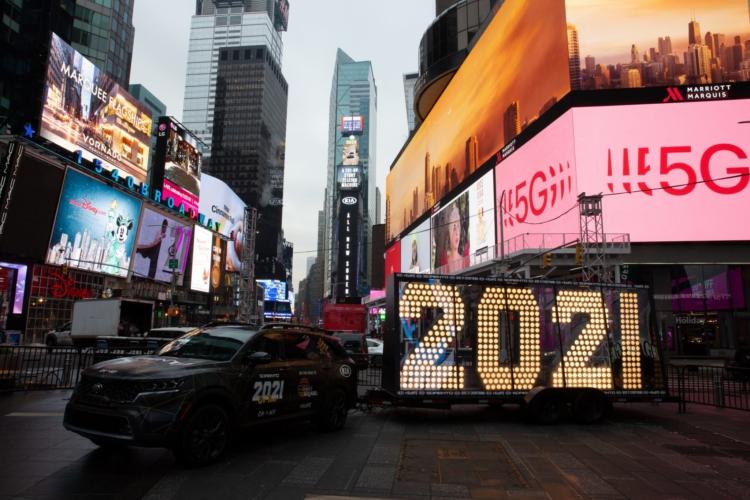 Capodanno 2021 New York live streaming