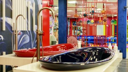 Casa Grande Fratello Vip 2020: le collezioni Io, App e Rocchetto di Ceramica Flaminia