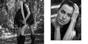 Ermanno Scervino campagna primavera estate 2021: protagoniste Irina Shayk, Natasha Poly e Joan Smalls