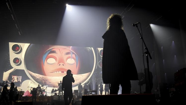 Gorillaz Song Machine Live 2020