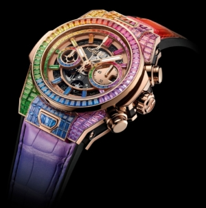 Hublot Big Bang Unico Rainbow High Jewelry: un arcobaleno di gemme