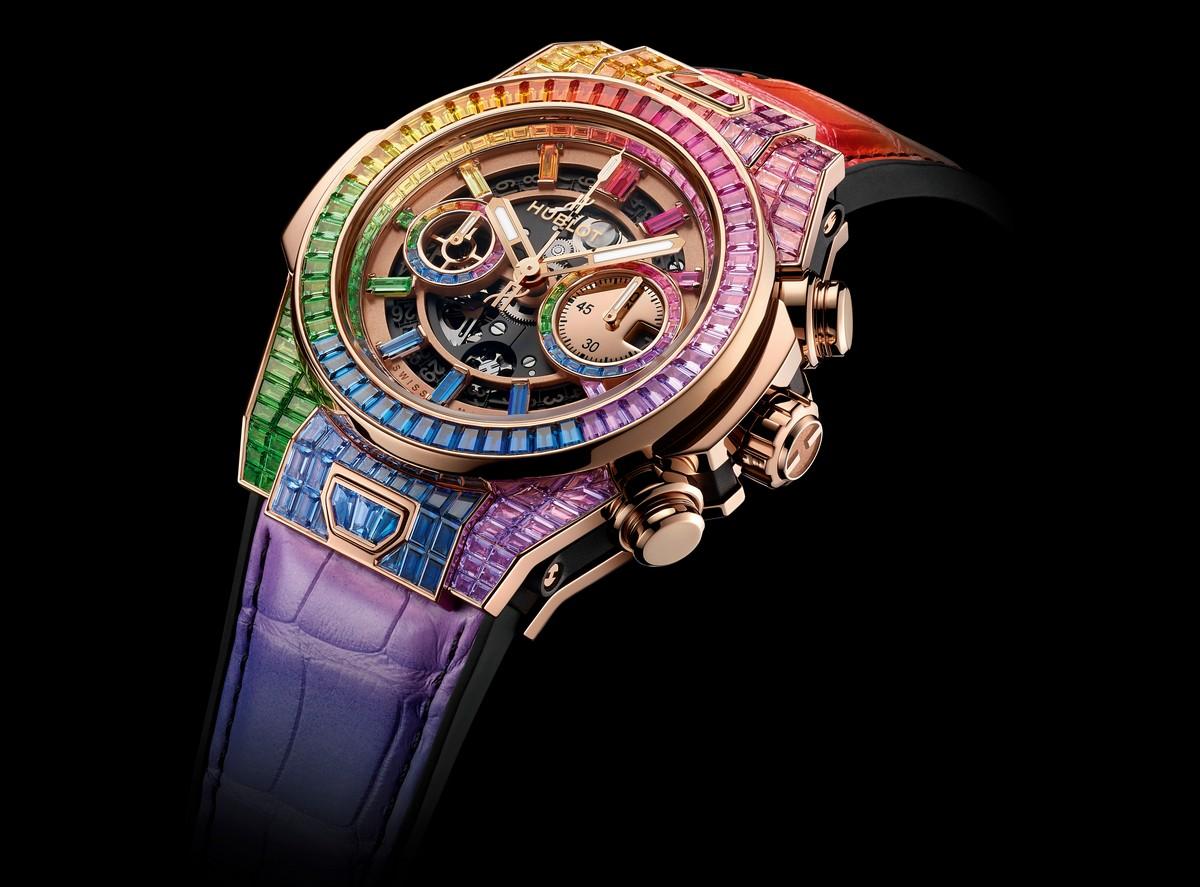 Hublot Big Bang Unico Rainbow High Jewelry