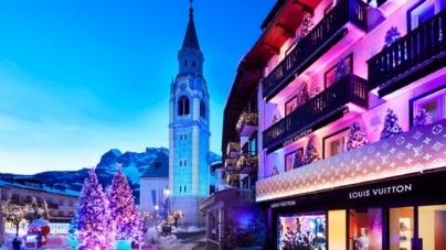 Louis Vuitton Cortina d'Ampezzo: la prima boutique in una località di montagna