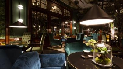 Mirror Cocktail Bar Bratislava: l'illuminazione è firmata dalle lampade Vibia