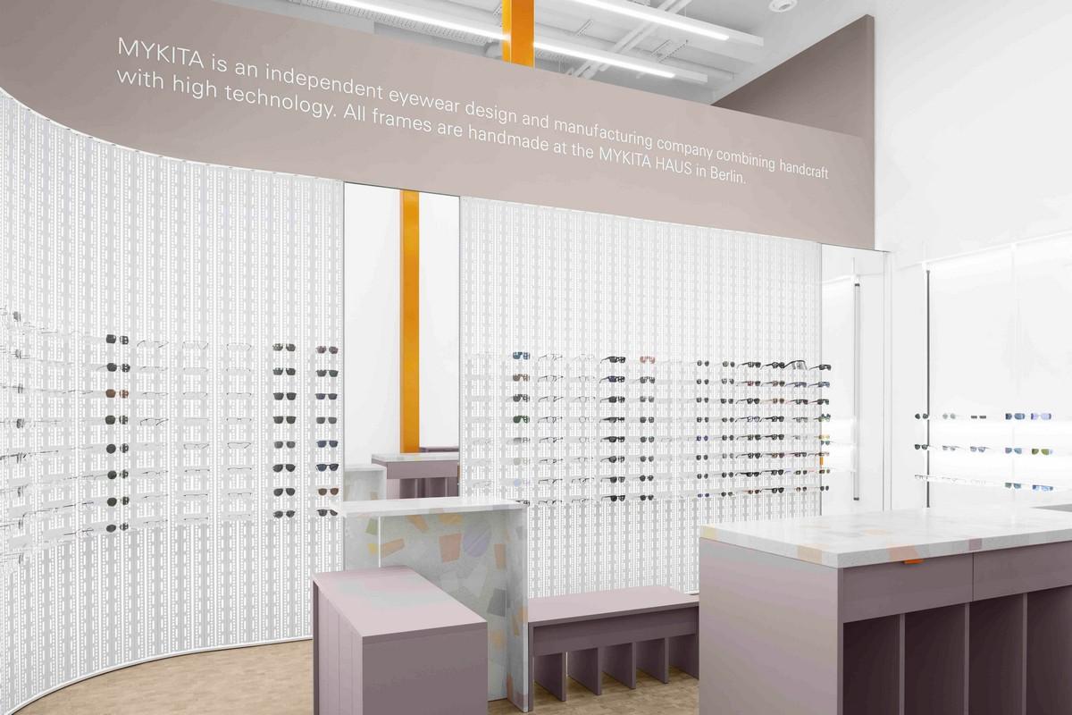 Mykita nuovo negozio Amburgo