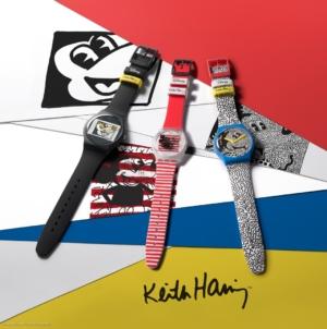 Swatch Mickey Mouse Disney Keith Haring: la collezione celebra l'icona Disney in chiave pop!
