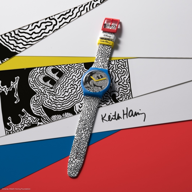 Swatch Mickey Mouse Disney Keith Haring