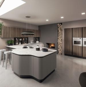 Aran Cucine modello Penelope: minimal o trendy, tante possibili personalizzazioni
