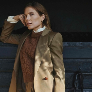 Blazé Milano Pre Fall 2021: l'eleganza country chic interpretata da Dree Hemingway