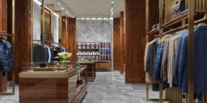 Canali boutique San Pietroburgo: il nuovo flagship store dall'eleganza minimalista