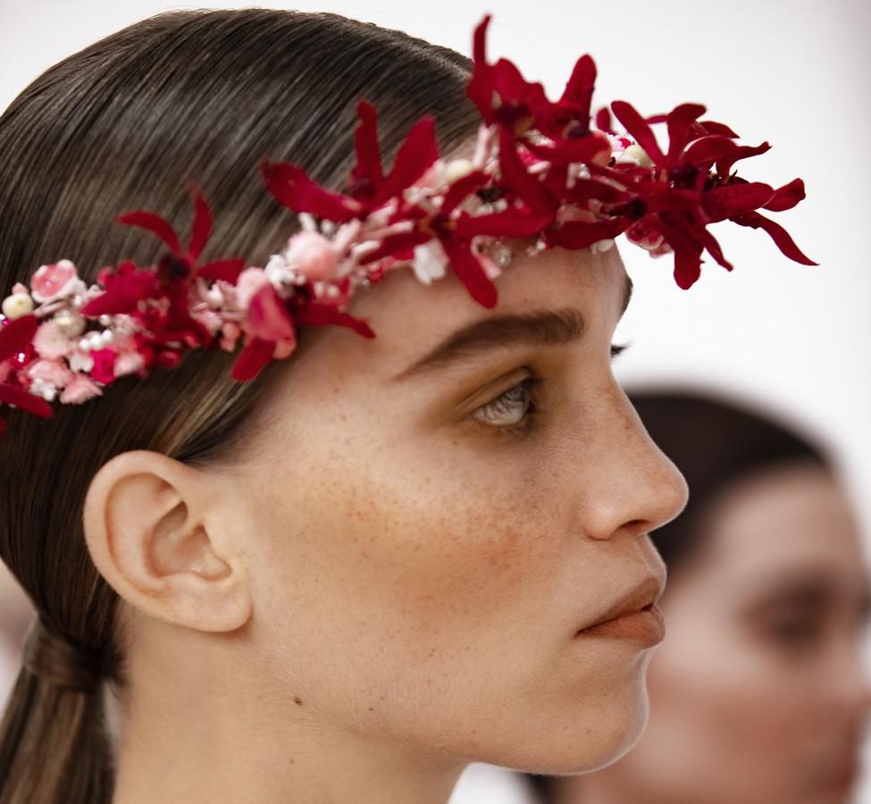 Chanel Beauty look Haute Couture primavera 2021