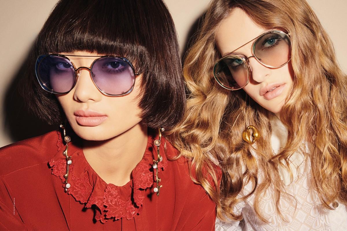 Chloé occhiali campagna primavera estate 2021