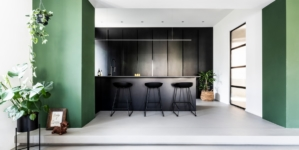 Cucine superfici HD Surface: Perfect Combination per progetti di interior design dallo stile minimal