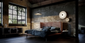 Diesel Living with Lodes: le nuove lampade Flask, Vinyl e Urban Concrete
