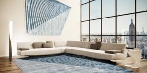 Illulian tappeti limited edition: Plié on stage, vibrazioni scultoree by AquiliAlberg
