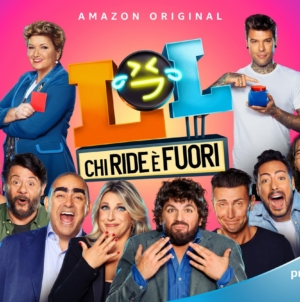 LOL Chi ride è fuori Amazon Prime Video: il nuovo comedy show con Fedez e Mara Maionchi